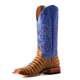 HORSE POWER TOASTED CAIMAN PRINT BOOT