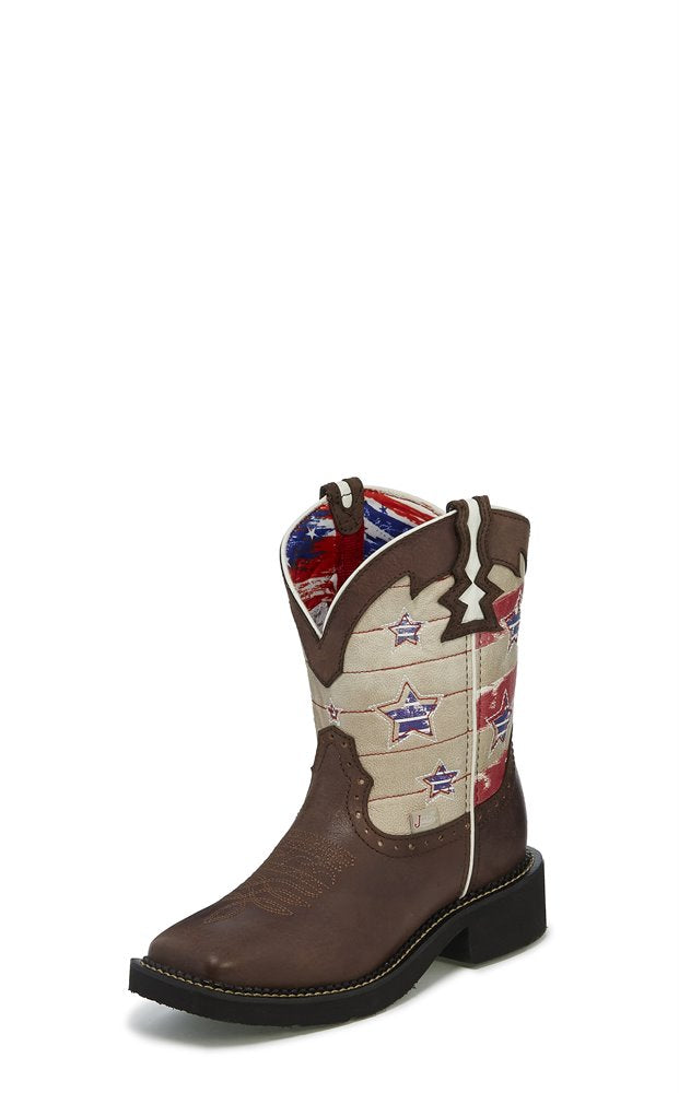 JUSTIN LADIES OLD GLORY GYPSY