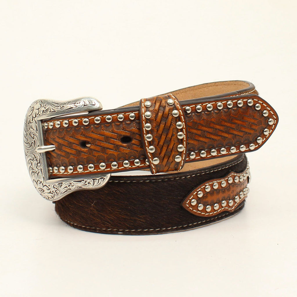 NOCONA MEN'S TAN PRO SERIES BELT