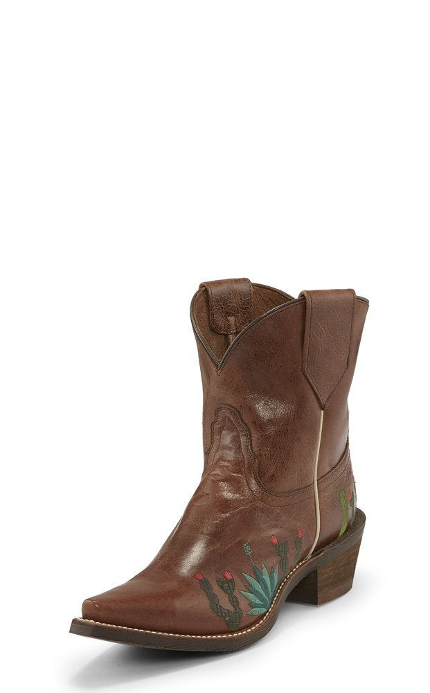 NOCONA LADIES AGAVE BROWN BOOTIE