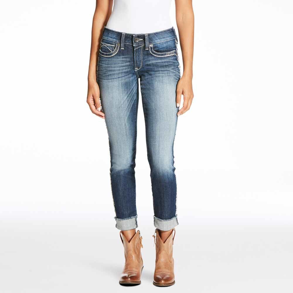 Ariat Womens R.E.A.L. Skinny Fray Jeans