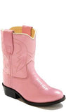 OLD WEST TODDLER PINK FANCY BOOT