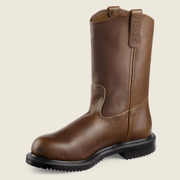 RED WING MEN'S SUPERSOLE SAFETY TOE WORK BOOT