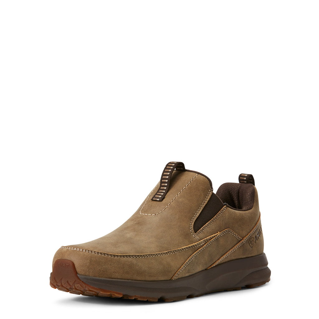 ARIAT MEN'S BROWN BOMBER SLIP ON SPITFIRE