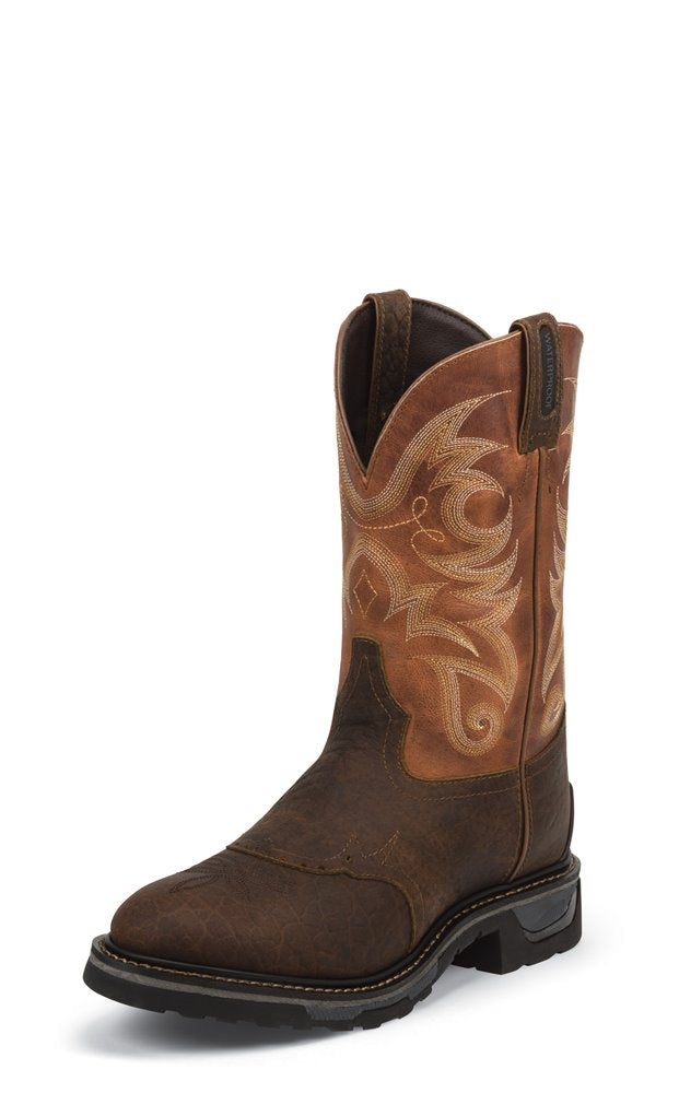 TONY LAMA CORSICANA WATERPROOF WORK BOOT