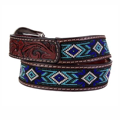 Twisted X Beaded Blues Belt
