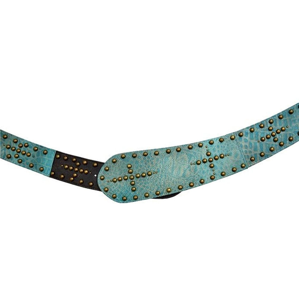 Angel Ranch Wide Turquoise Belt