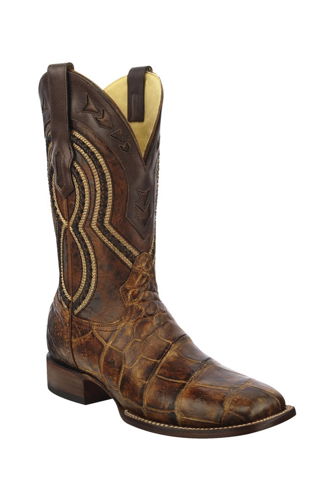 Corral Honey Brown Alligator Boot