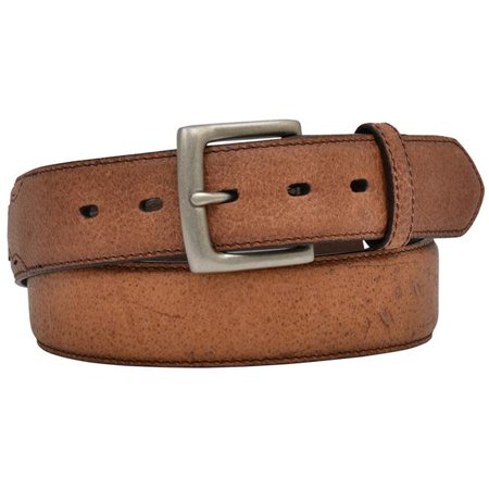 3D Men's Dark Brown Leather Belt