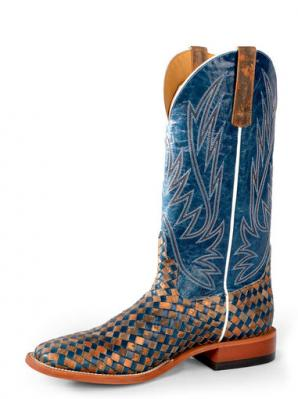 HORSE POWER UNBEWEAVABLE BLUE VOLCANO/COPPER BOOT