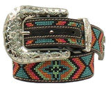 NOCONA GIRL'S MULTI-COLORED BELT