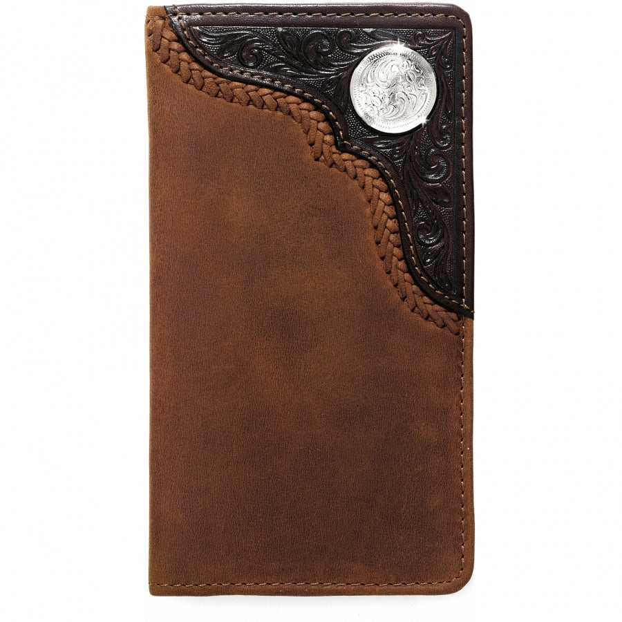 Silver Creek Bronc Buster Checkbook Wallet
