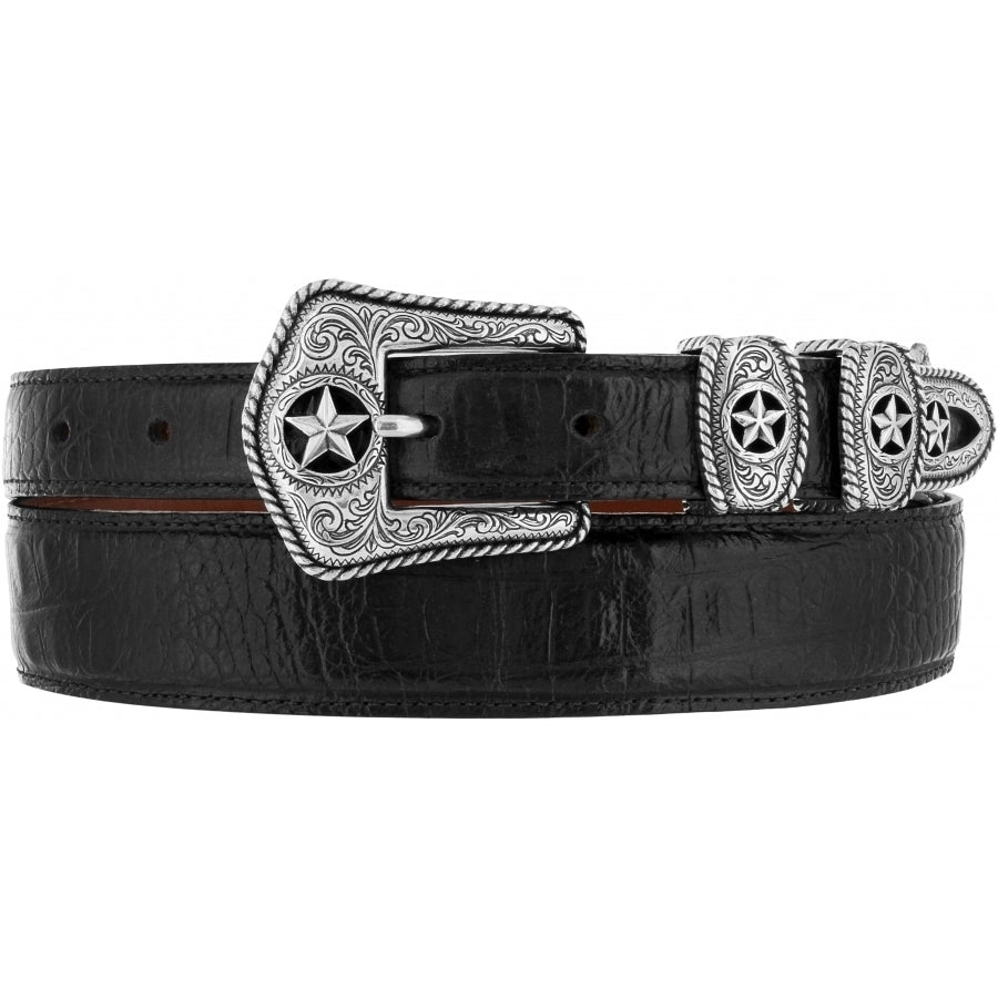 Tony Lama Men's Country Croc Belt