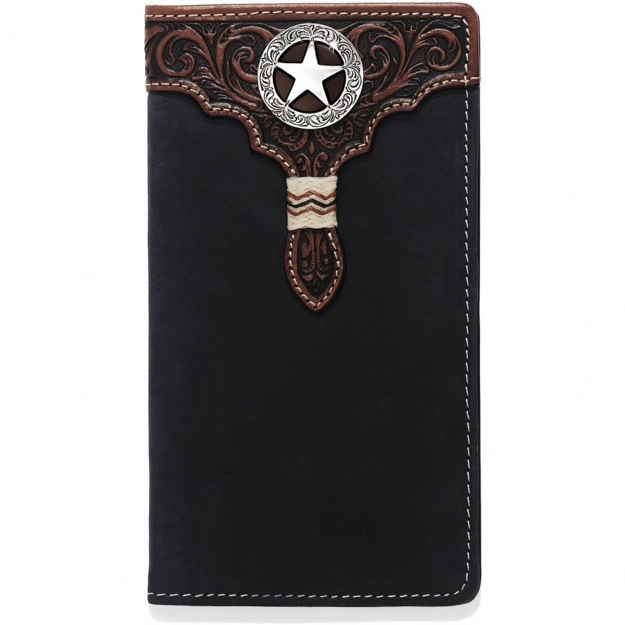 Silver Creek Lone Star Checkbook Wallet