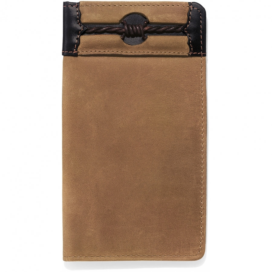 Silver Creek Fenced In Checkbook Wallet