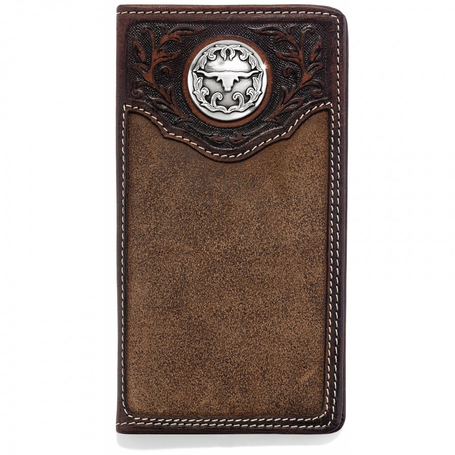Longhorn City Checkbook Wallet