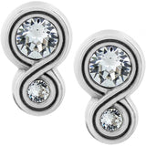 Brighton Infinity Sparkle Post Earrings