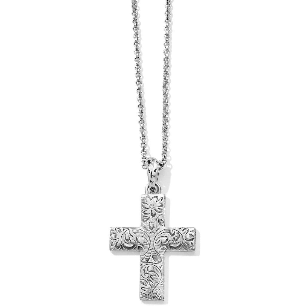 Brighton Timeless Cross Convertible Necklace