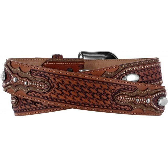 Tony Lama Men's Classic Country Western Belt