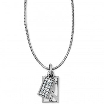 BRIGHTON DIAMOND CHARM NECKLACE