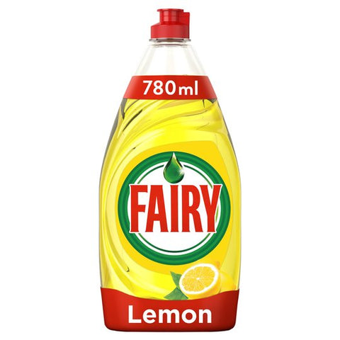 Fairy Lemon Washing Up Liquid Lemon 780Ml