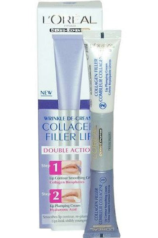 Loreal Collagen Filler Lip Double Action 2 x 5ml