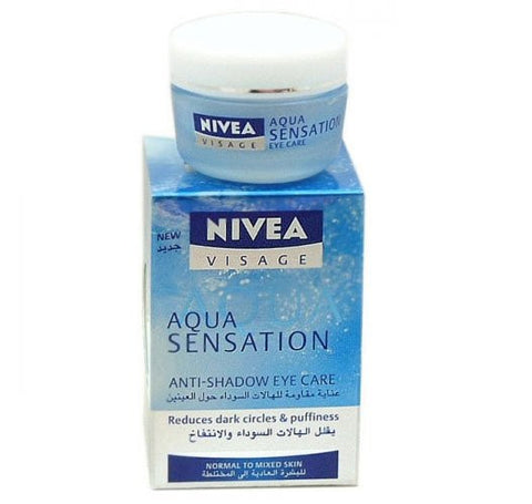 Nivea Visage Aqua Sensation Anti Shadow Eye Care 15ml