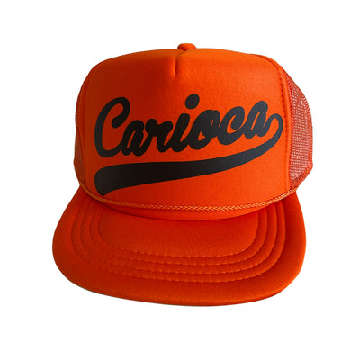 CA-RIO-CA Sunga Co. Embroidered Shiny Trucker Hat