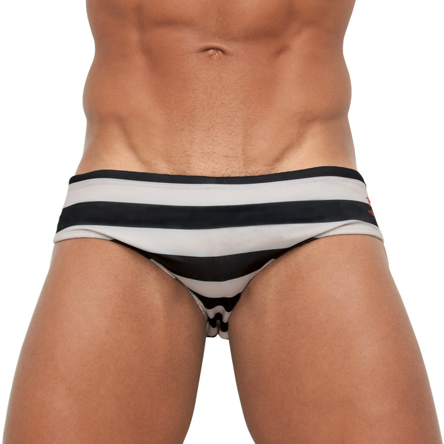 Koi Off-White Sunga - Men's Designer Swimwear