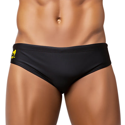 PRETO / BLACK Men's Swimming Sunga - Beachwear for Men