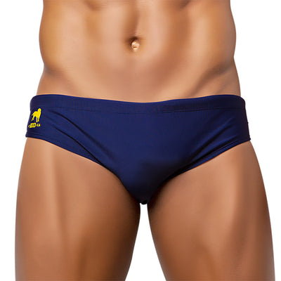 MARINHO / NAVY Blue Swimming Shorts for Men - Men's Designer Swimwear