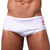 BRANCO / WHITE Men's Swimming Briefs - Men's Designer Swimwear