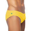 Limonada Yellow Men's Swimming Suit - Men's Designer Swimwear
