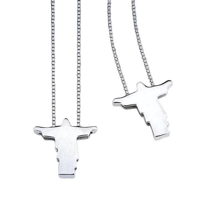 THE CHRIST SCAPULAR Male Cross Necklace - Men's Fashion Jewelry