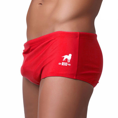 VERMELHO / RED Swimming Shorts for Men - Male Bathing Suit