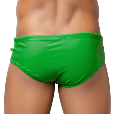 FORTUNA VERDE / GREEN Male Bathing Suit - Men's Designer Swimwear