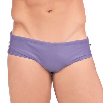 FOG Purple Men's Swimming Suit - Men's Designer Swimwear - CLEARANCE/FINAL SALES