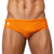 TANGERINE / ORANGE Swimming Shorts for Men - Male Bathing Suit