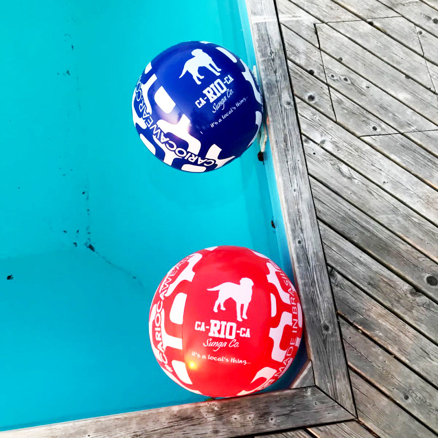 "CA-RIO-CA BEACH BALL 24"" - Red or Blue - Buy a Beach Ball"