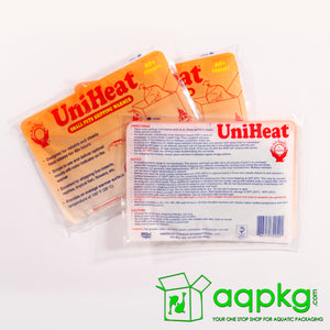 UniHeat 40 Hour Shipping Warmer - Back of Packaging
