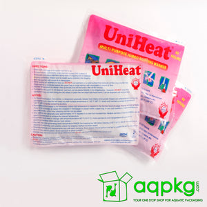 UniHeat 60 Hour Shipping Warmer - Back of Packaging