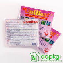 Load image into Gallery viewer, UniHeat 96 Hour Shipping Warmer - Back of Packaging