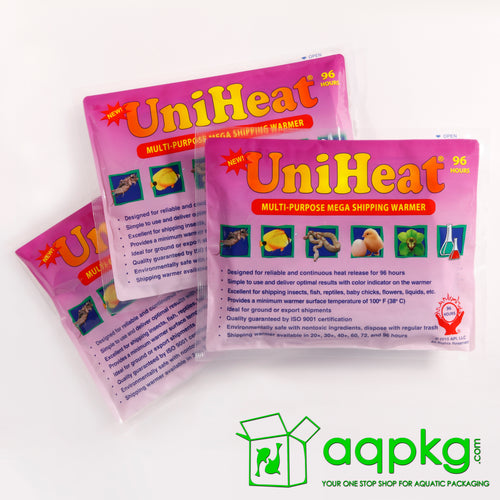 UniHeat 96 Hour Shipping Warmer - Front of Packaging