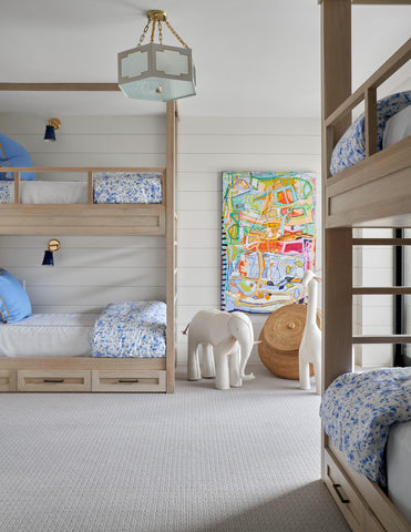 High end kids furniture in a luxurious bedroom.