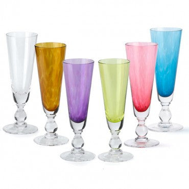 NC Champagne Flutes