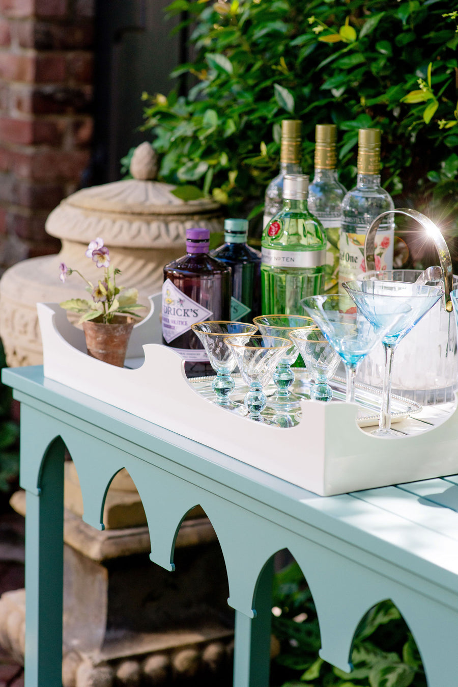 Outdoor Console Tray