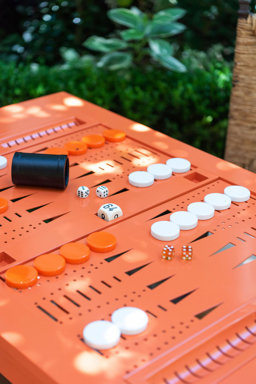 Outdoor Backgammon Table