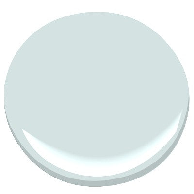 Tini III Table- Custom Color Ocean Air with Linen