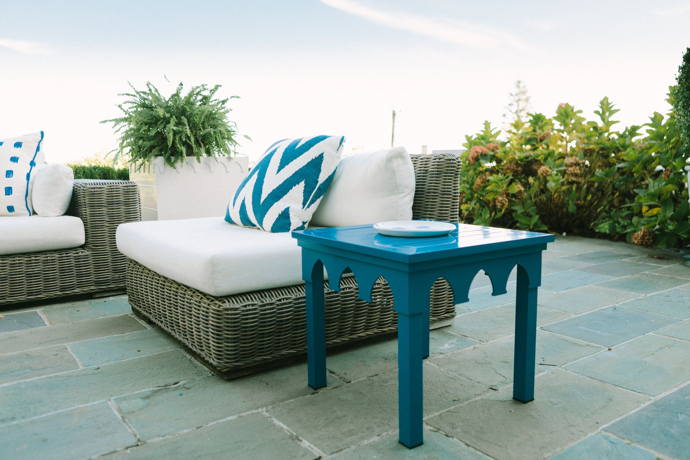 Ocean Drive Side Table - Yankee Navy