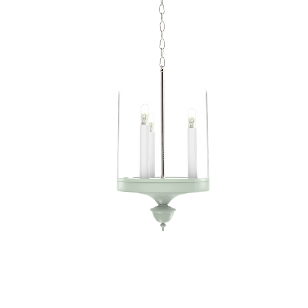 Greenwich Hanging Sconce with Nickel - Lighting
